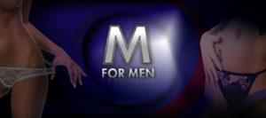 M for Men banner_1