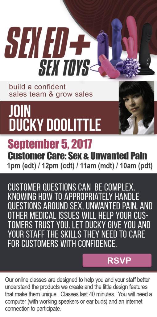 Sept 2017 Ducky Class