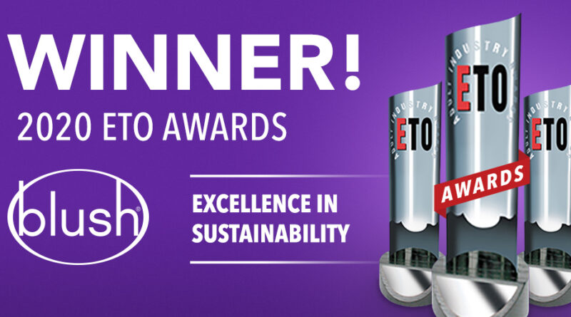 Winner! 2020 eto awards, excellence in sustainability