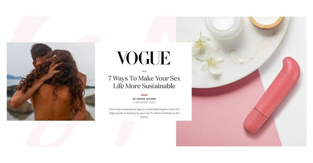 Blush featured in Vogue Magazine!